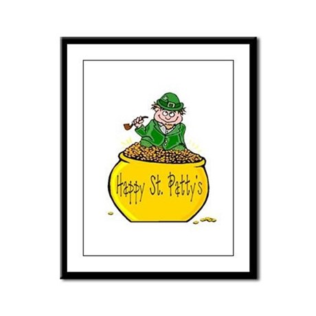 Pot of Gold Framed Panel Print