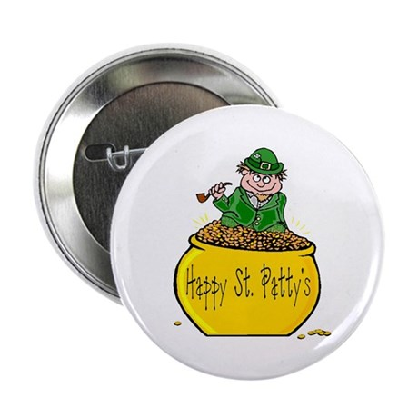 "Pot of Gold 2.25"" Button (10 pack)"