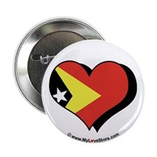 "I Love East Timor 2.25"" Button (100 pack)"