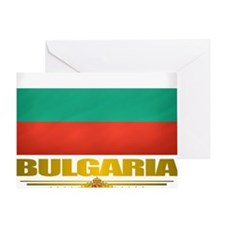 Bulgaria (Flag 10) Greeting Card