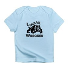 Lucas Wrecker Black Infant T-Shirt