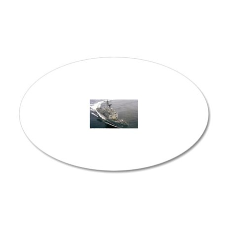 afitch rectangle magnet 20x12 Oval Wall Decal