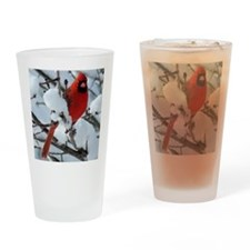 SnowCard7.75x9.25SF Drinking Glass