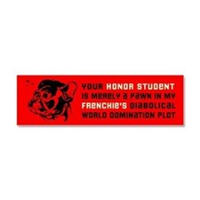 Cute French revolution Car Magnet 10 x 3