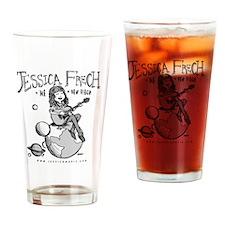 Jess-Frech-Tshirt Drinking Glass