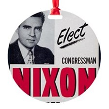 ART Nixon for Senate Ornament