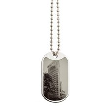 Vintage Flatiron Dog Tags
