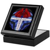 LEATHER PRIDE BRICK DESIGN3 Keepsake Box