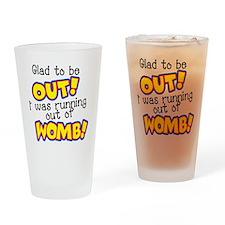 womb Drinking Glass