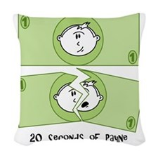 payne-note Woven Throw Pillow