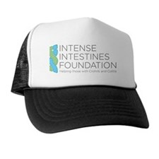 Intense Intenstines Logo Large Trucker Hat