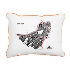 W-LTPK_BOS-MA_BK-RD_1 Rectangular Canvas Pillow