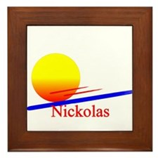 Nickolas Framed Tile