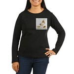 1973 West Women's Long Sleeve Dark T-Shirt