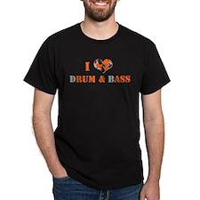 I Love dRum & bAss T-Shirt
