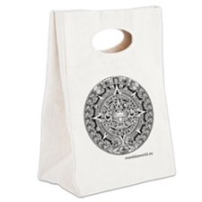 Mayan Calendar Canvas Lunch Tote
