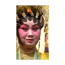 chinese opera dancer Decal