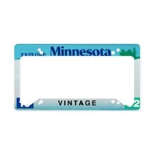 Minnesota60_2012 License Plate Holder