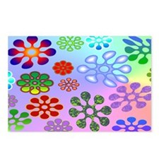 Flower Power clutch Postcards (Package of 8)
