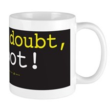 Reboot [courier]-byw Mug
