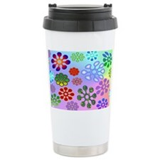 Flower Power mini wallet Ceramic Travel Mug