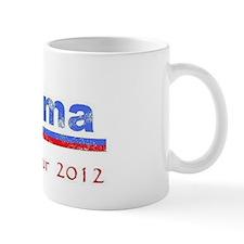 Obama farewell tour faded Mug