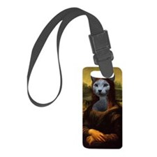 Mona Lisa Luggage Tag