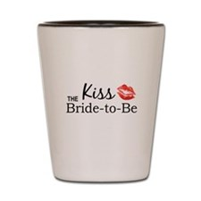 Kiss the Bride-to-be Shot Glass