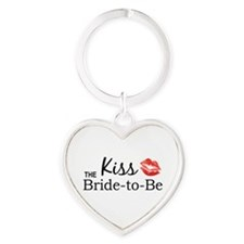 Kiss the Bride-to-be Keychains