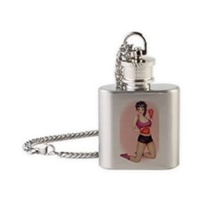 Boxing Flask Necklace