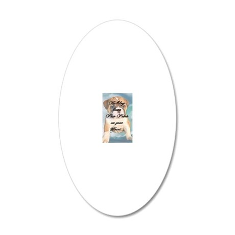 tyra_keychain4b 20x12 Oval Wall Decal