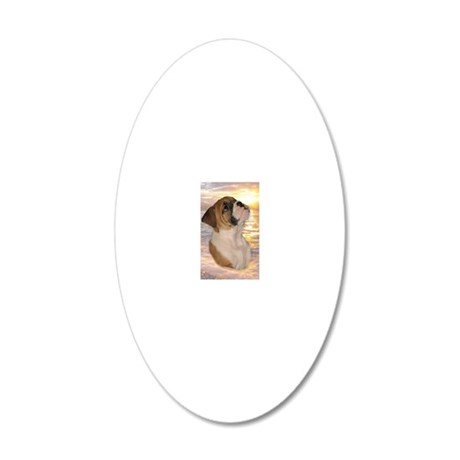 tyra_keychain5 20x12 Oval Wall Decal