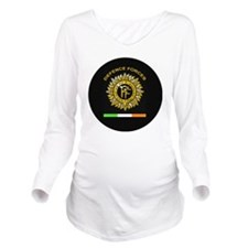 PDF Round Long Sleeve Maternity T-Shirt