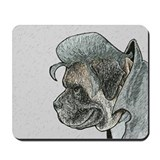 Ink Sketch of Mastiff Presley Mousepad