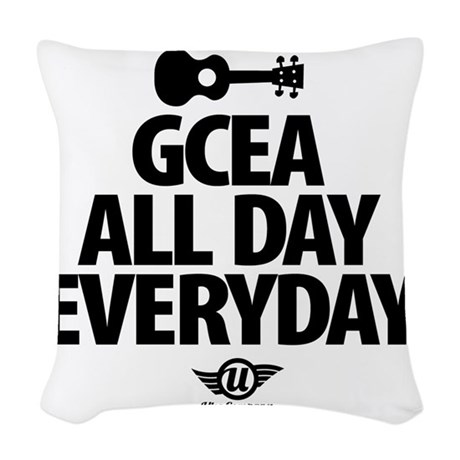 GCEA All Day Everyday Woven Throw Pillow