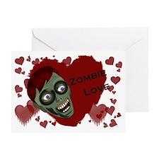 zombieLove_sticker_full Greeting Card