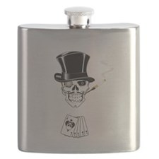 aces -n- eights dead mans hand - white text Flask