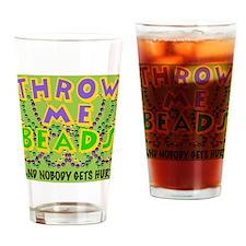throwMEbeadsTyGbc Drinking Glass