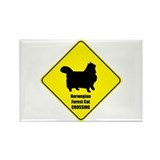 Norwegian Crossing Rectangle Magnet (100 pack)