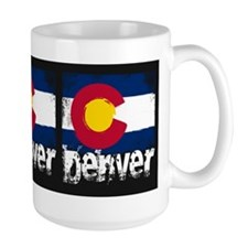 Denver Grunge Flag Mug