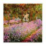 &quot;Claude Monet&quot; Tile Coaster