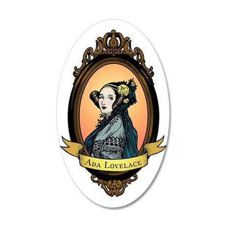 2000px-Ada_Lovelace_color 35x21 Oval Wall Decal