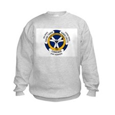 Crow Creek Sioux Flag Sweatshirt