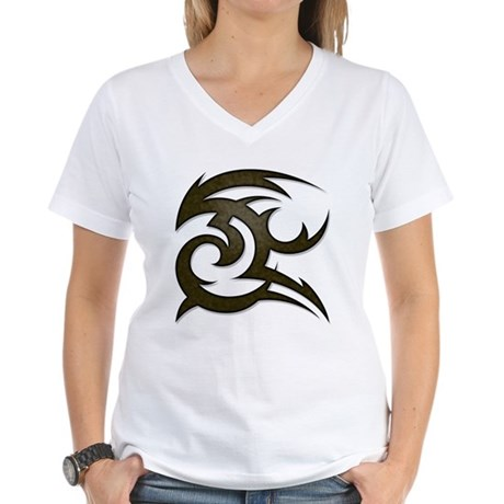 Tribal Gust Women's V-Neck T-Shirt