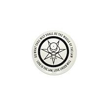 Mark of the Beast Mini Button