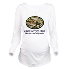 CTCNCBanner Long Sleeve Maternity T-Shirt
