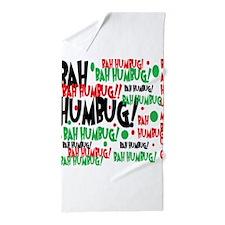 Bah Humbug Chr Beach Towel