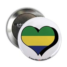 "I Love Gabon 2.25"" Button (100 pack)"