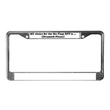 mychoice_front License Plate Frame