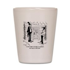 6451_lincoln_cartoon Shot Glass